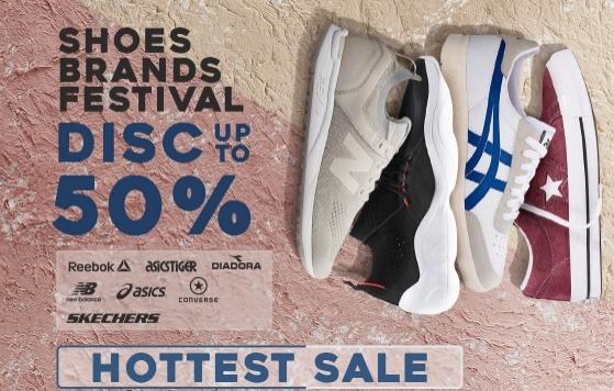 JD.ID Diskon Hingga 50% - Shoes Festival