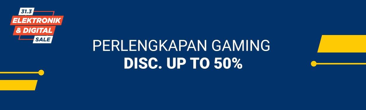 Shopee Diskon Sampai 50% untuk Perlengkapan Gaming