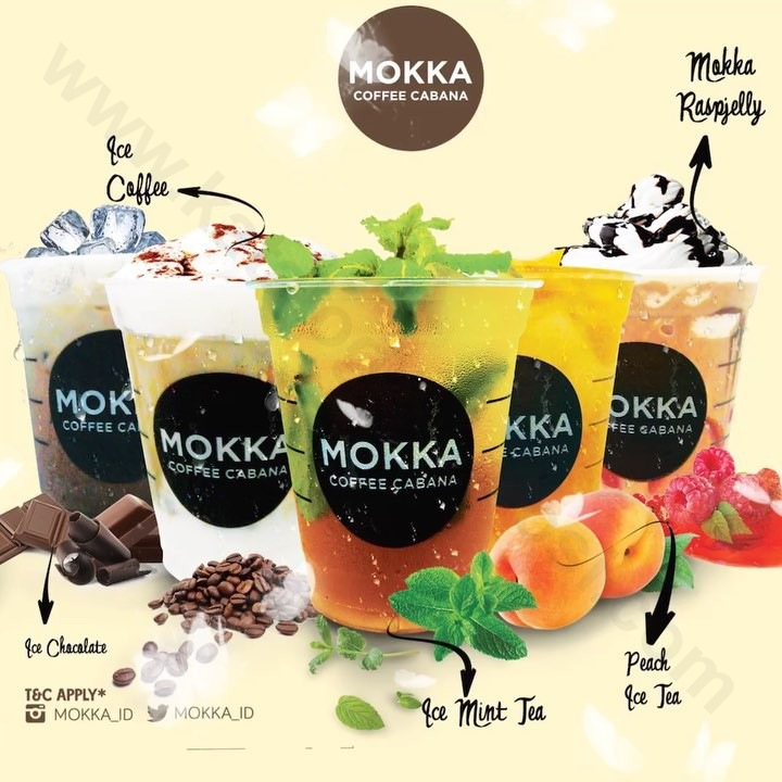 MOKKA COFFEE CABANA Promo Buy 1 Get 1 For Takeaway or Via GOFOOD