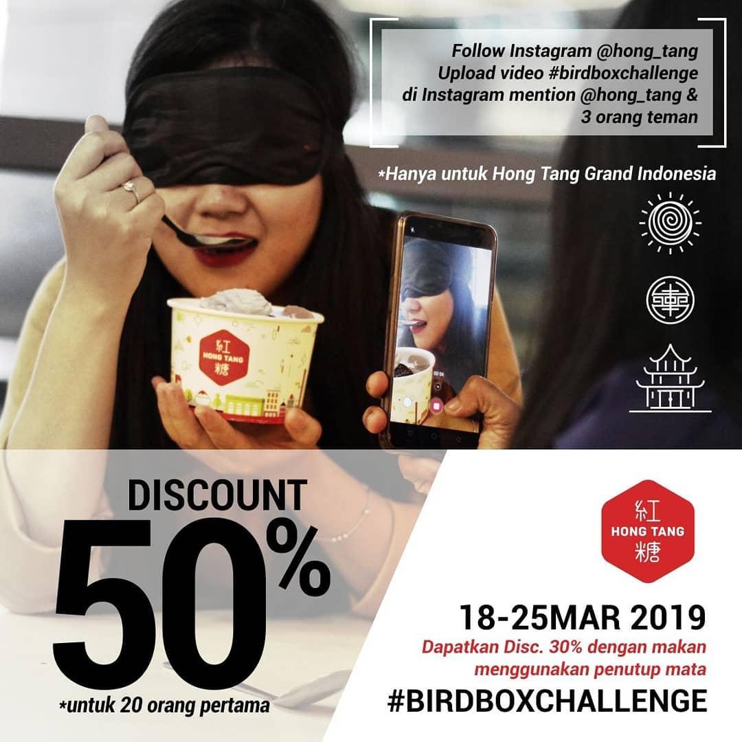 HONG TANG BIRDBOX CHALLENGE DISKON hingga 50%