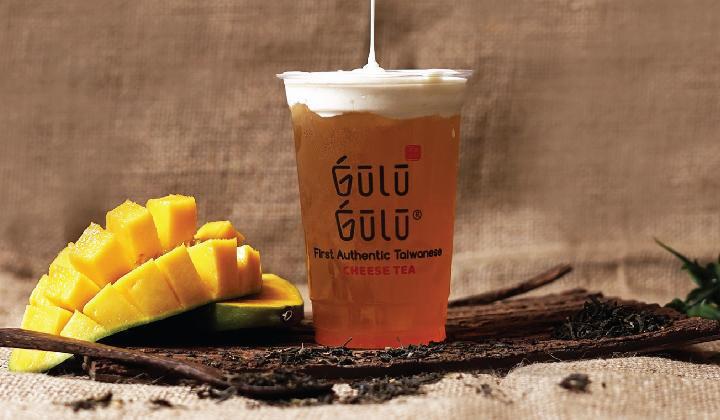 GULU GULU Promo Cashback 30% untuk Taiwanese Cheese Tea & Brown Slurppy Bobba dengan OVO