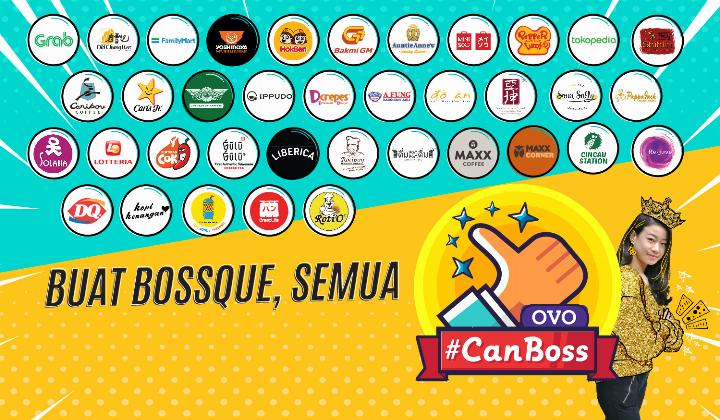 Diskon OVO CAHBACK 60% Promo Payday Bosque!!