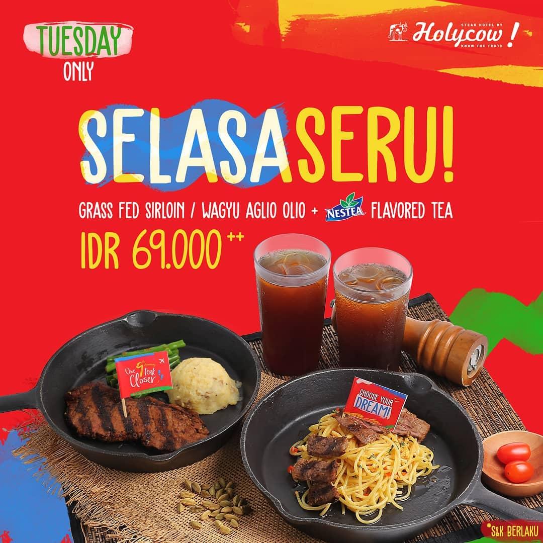 Steak Hotel By Holycow Promo Makan Enak Dan Hemat Cuma Rp. 69 Ribuan
