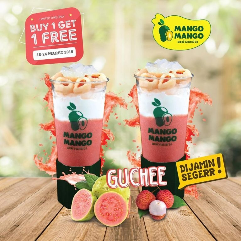 MANGO MANGO Promo Buy 1 Get 1 FREE untuk Guchee