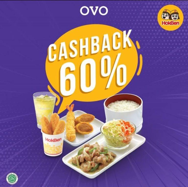 HOKBEN Promo Bayar Pakai OVO dapat Cashback 60%