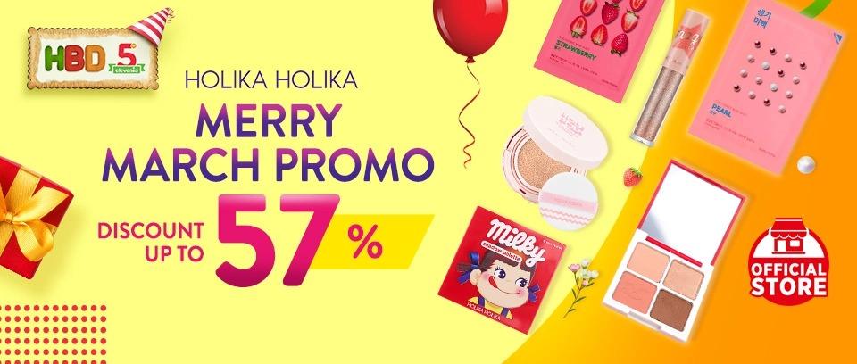 elevenia.co.id Promo Holika Holika, Diskon 57%