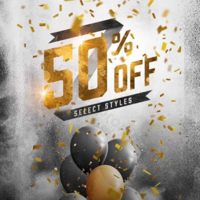 PAYLESS Promo Diskon up to 50%!!