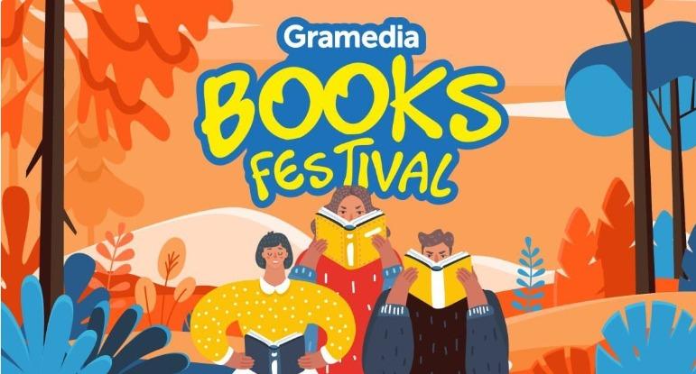 GRAMEDIA BOOKS FESTIVAL Promo Diskon 40-90%