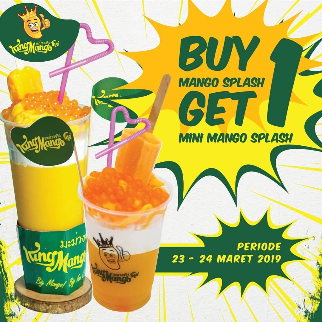 KING MANGO Promo Buy 1 get 1!