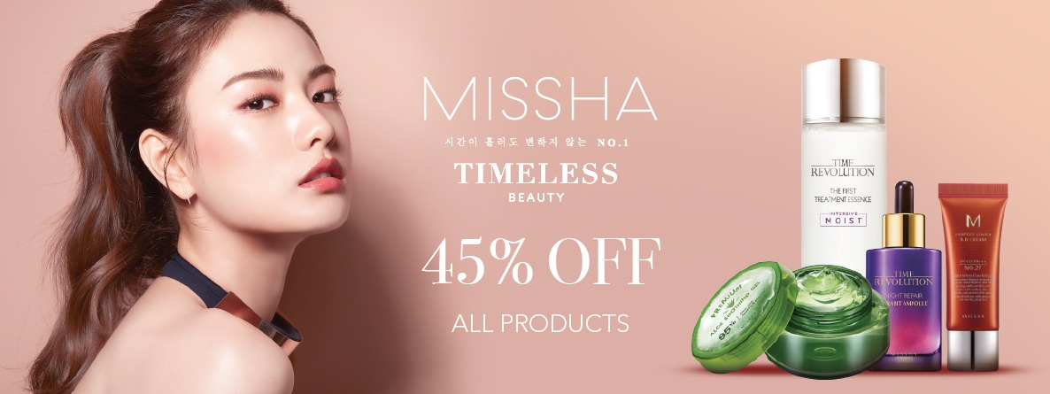 Blibli Promo Missha All Items, Diskon 45%