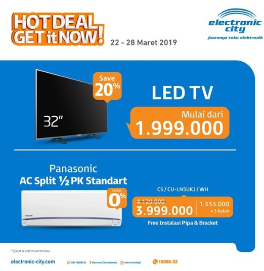 ELECTRONIC CITY HOT DEALS