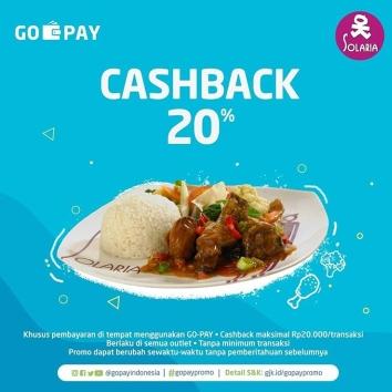 SOLARIA Cashback 20% dengan GO-PAY