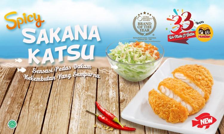 HOKBEN PROMO gratis Spicy Sakana Katsu dengan Kartu Kredit Citi