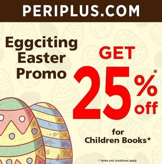 PERIPLUS.COM Eggciting Promo Diskon 25%
