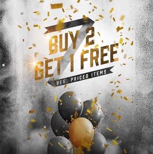 PAYLESS Promo ANNIVERSARY SALE Buy 2 Get 1 Free
