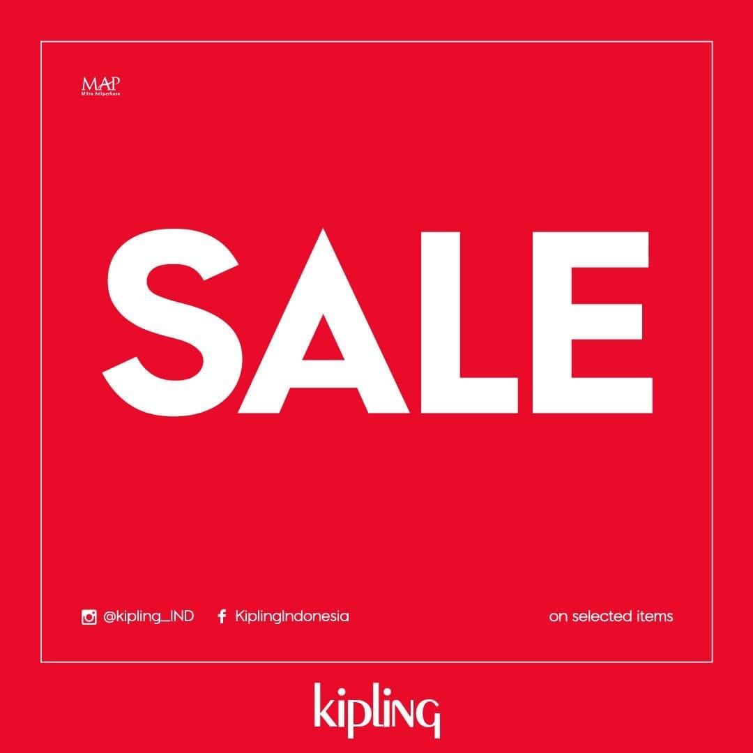 Diskon Kipling Super Sale, Diskon 50% Off