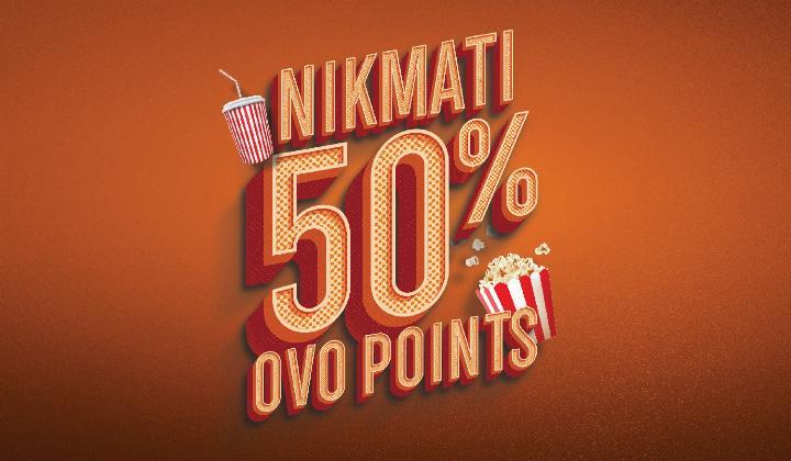 Cinemaxx Theater Promo Cashback 50% Dengan OVO