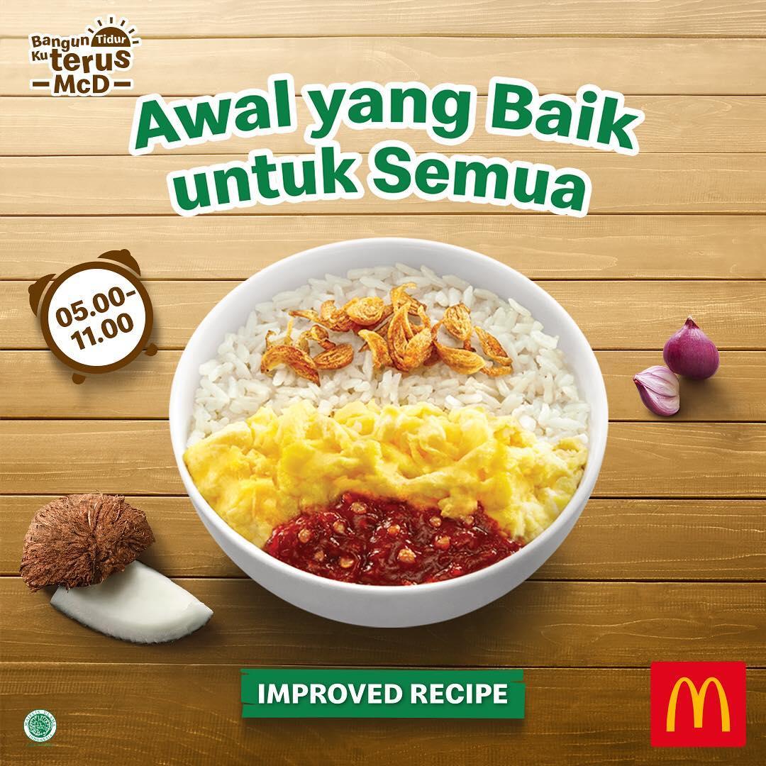 McDonalds Promo Menu Baru Nasi Uduk McD Rp. 15.000