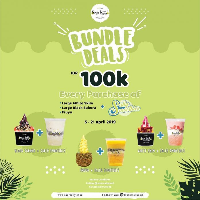 Promo Bundle Deals 100K di Sour Sally
