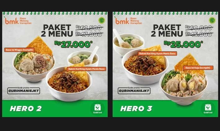 Diskon Promo Grab Food di Baso Malang Karapitan – April 2019