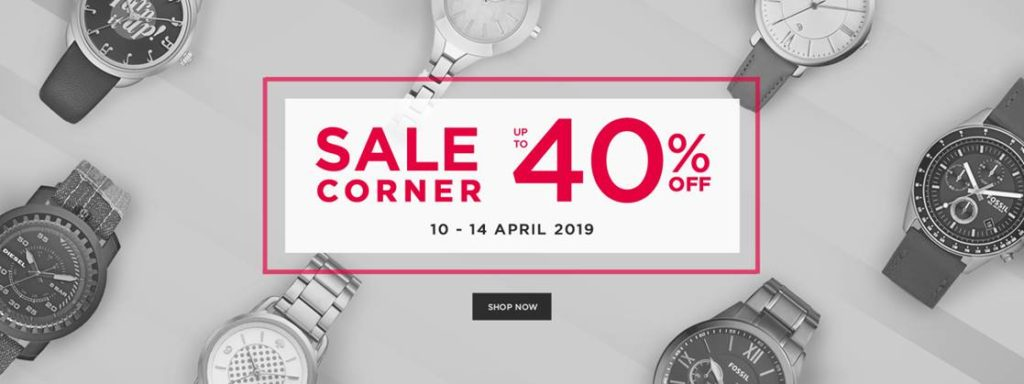 Diskon URBAN ICON SALE Corner! Exclusive Discount up to 40 Off