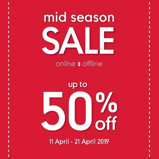 Mothercare Promo Mid Season Sale Disc Up To 50% off