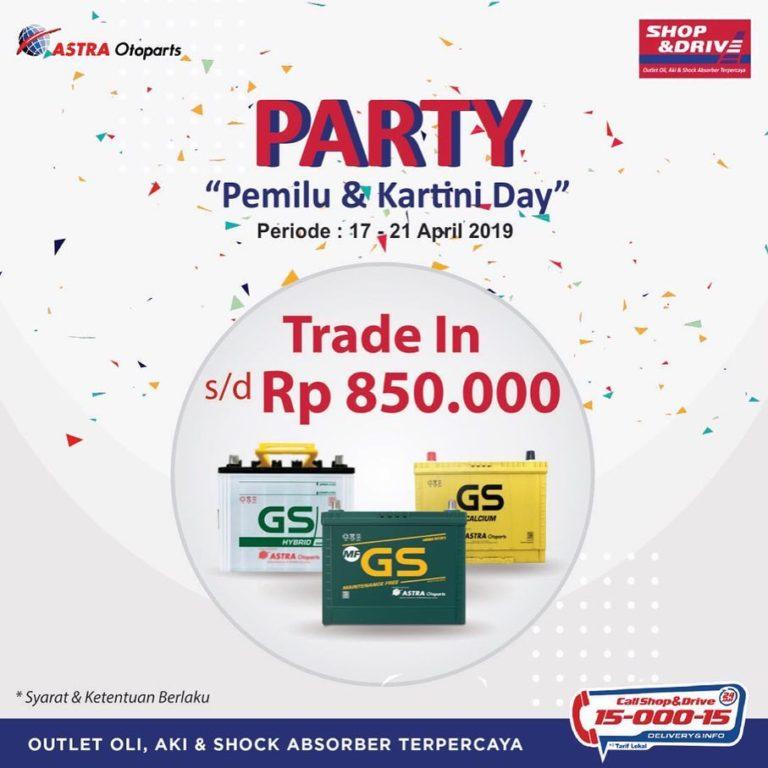 SHOP&DRIVE Promo Pemilu dan Hari Kartini