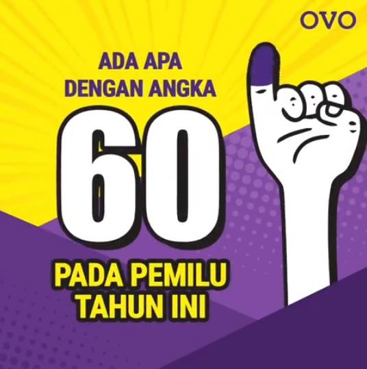 Promo Pemilu 2019 OVO Cashback Sampai 60%