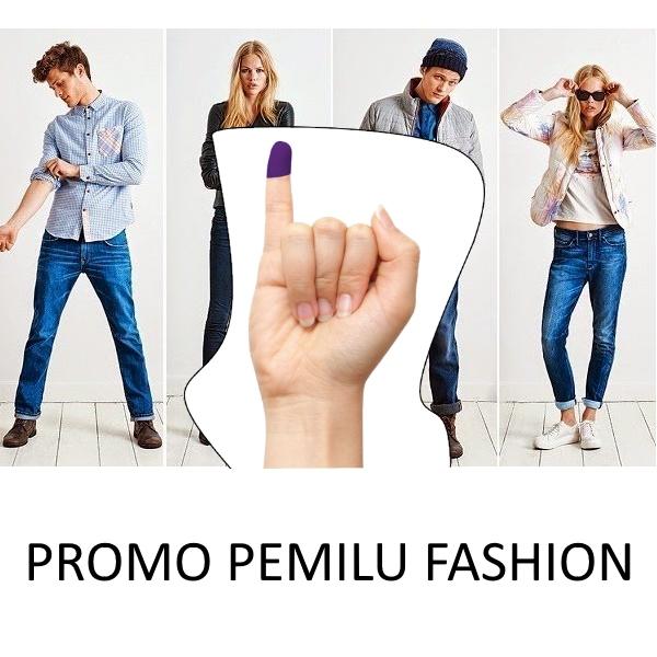 Daftar Lengkap Promo Pemilu Fashion dan Aksesoris
