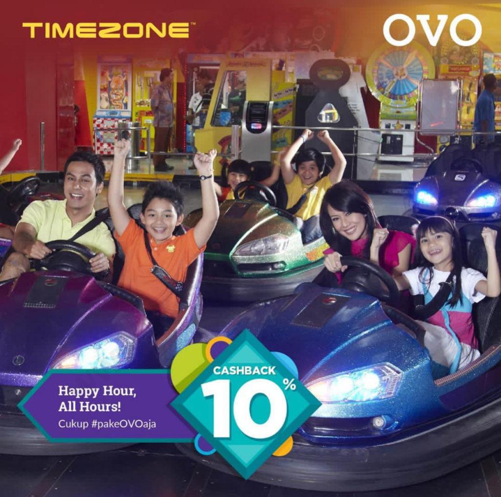 Diskon TIMEZONE Promo CASHBACK 10% dengan OVO
