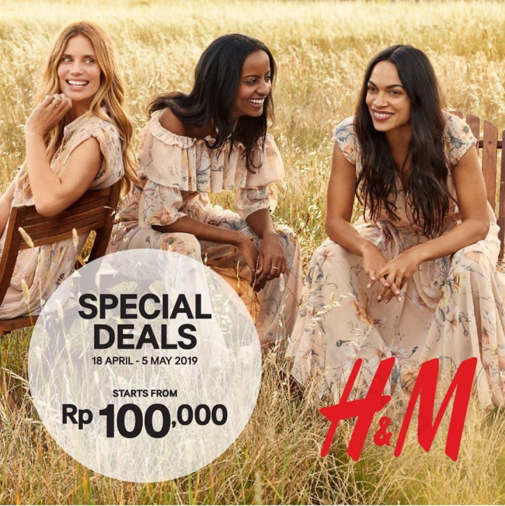 Diskon H&M Promo Special Deals Mulai Dari Rp. 100.000