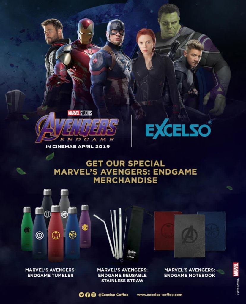 EXCELSO Special Merchandise Edisi Marvel's Avengers: Endgame