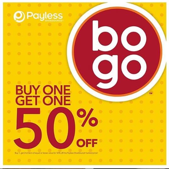 Diskon PAYLESS Shoesource Beli 1 Gratis 1 50% OFF