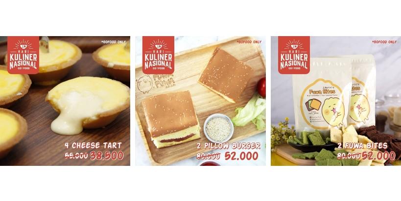 Fuwa Fuwa Promo Harkulnas untuk pemesanan via GoFood