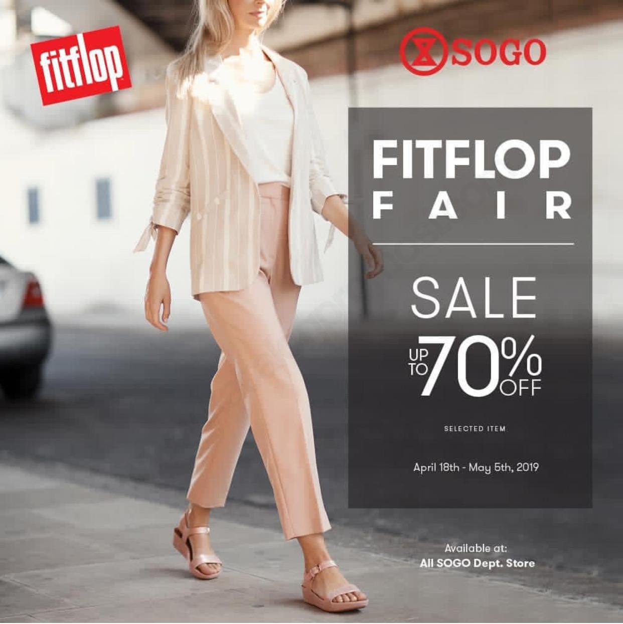Diskon SOGO Department Store FlipFlop Fair Diskon sampai 70%