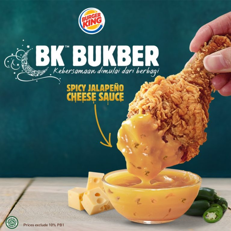 BURGER KING Promo PAKET BK Bukber  mulai Rp. 25.000