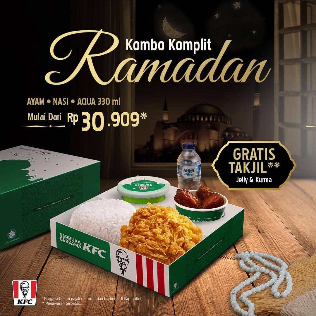 KFC Promo Kombo Komplit Ramadan – Harga mulai Rp. 30.909