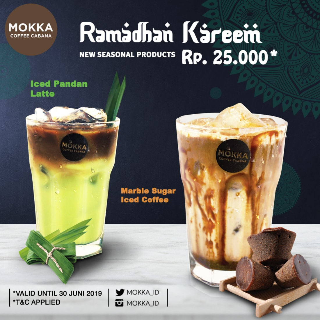 MOKKA COFFEE CABANA Present New Seasonal Products – Ramadhan Kareem