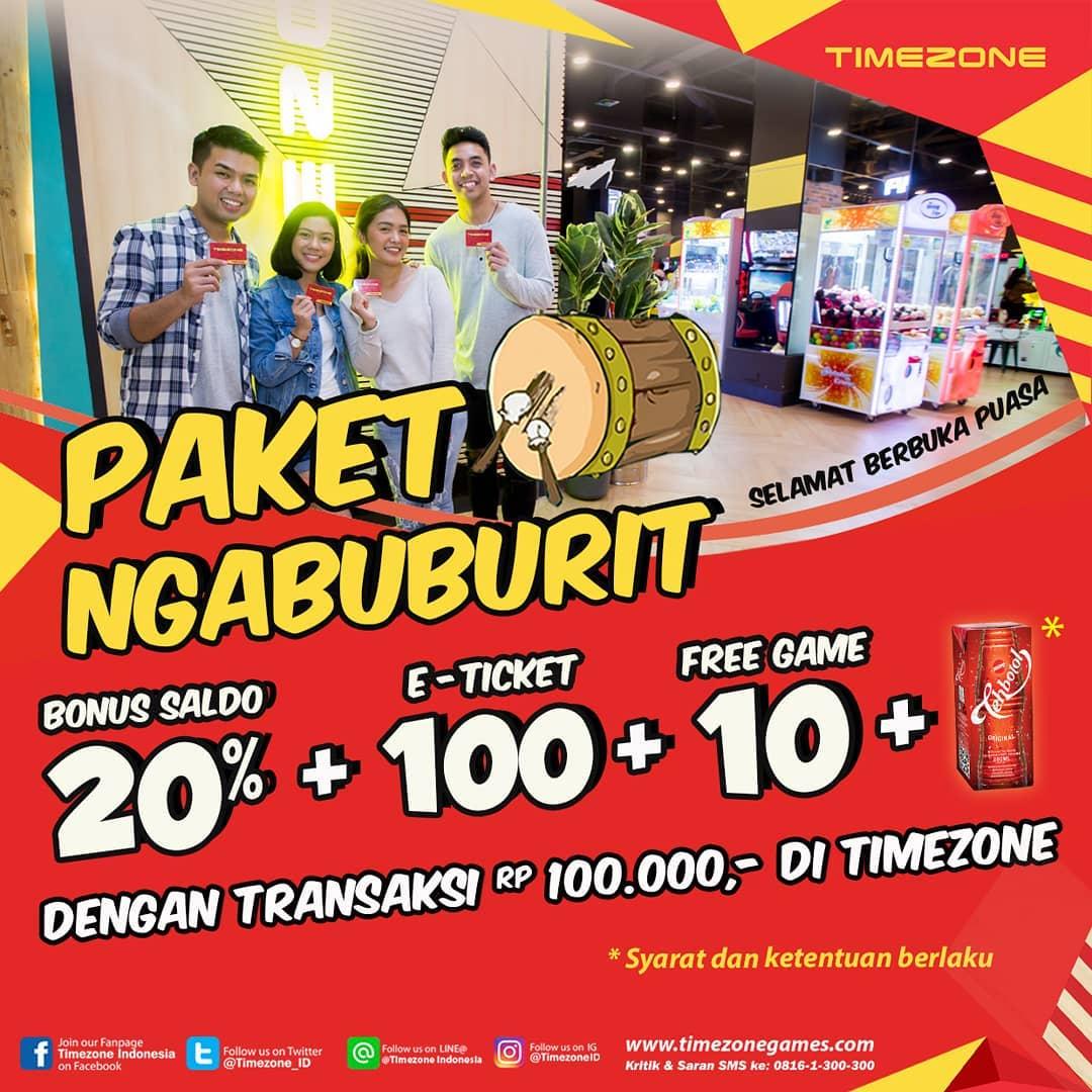 TIMEZONE Promo Paket Ngabuburit