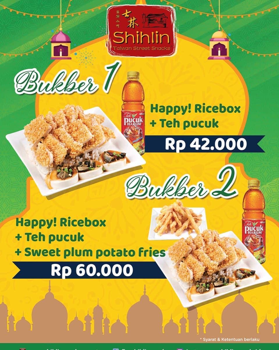 Diskon Shihlin Promo Paket Bukber start from Rp. 42.000*