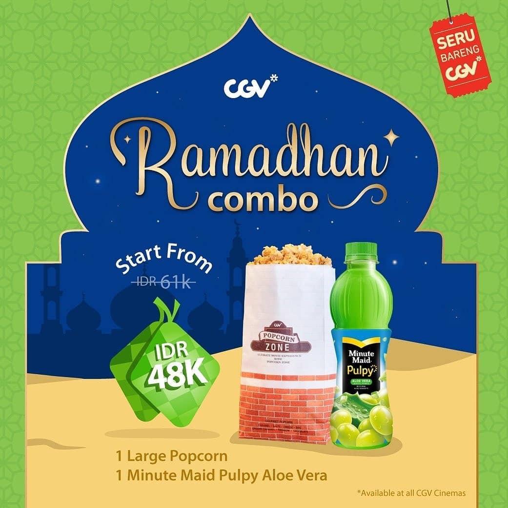Diskon CGV Ramadan Combo – Harga mulai Rp. 48.000