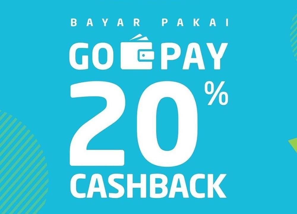 GRAMEDIA Promo VOUCHER CASHBACK 20% untuk transaksi dengan GOPAY