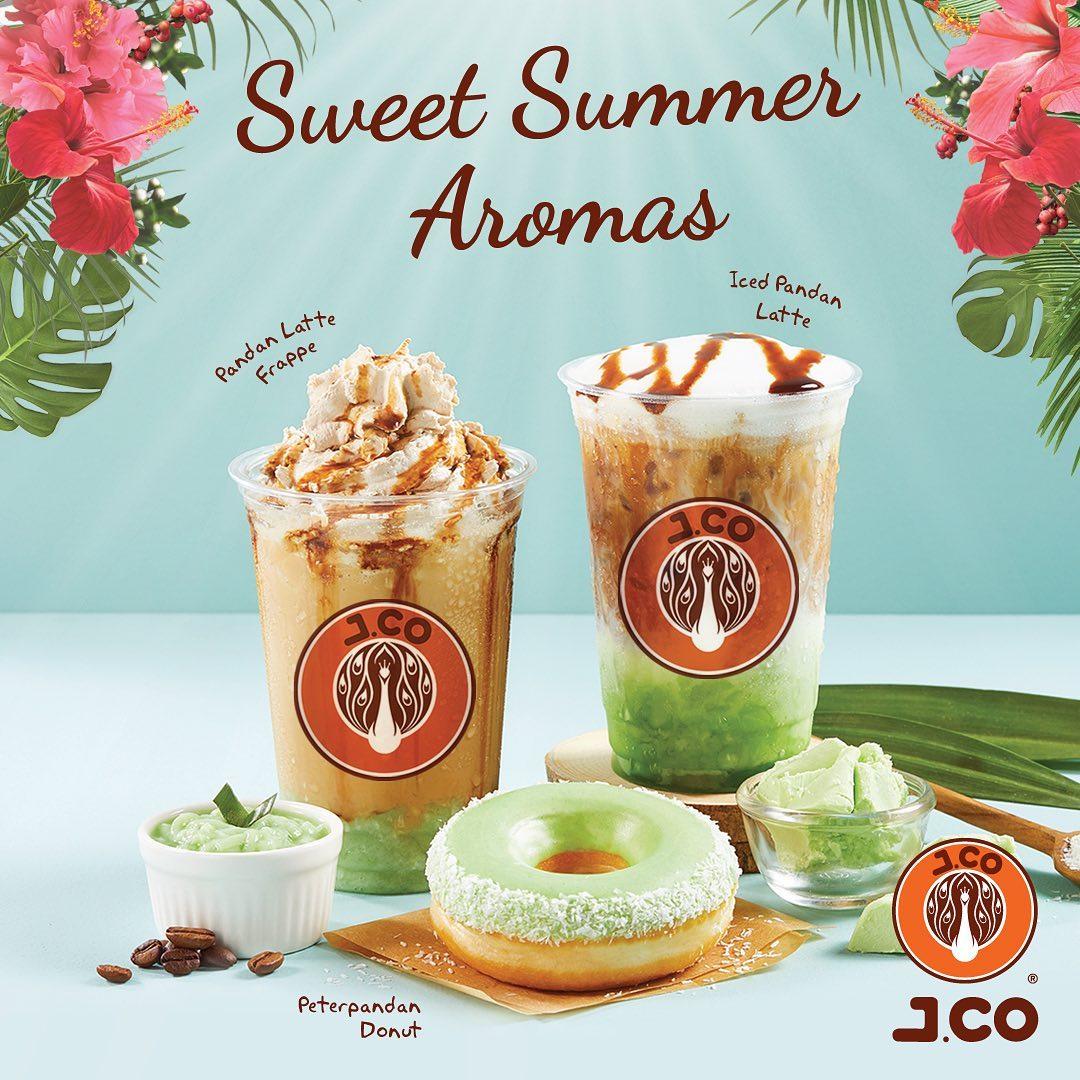 JCo Donuts Promo Ramadhan, Menu Terbaru Sweet Summer Aromas
