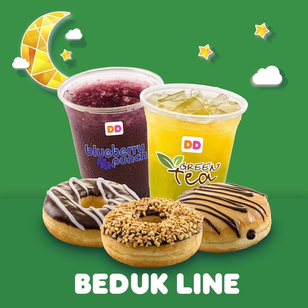 Dunkin Donuts Promo Ramadhan, Beli Paket Bukber Hanya Rp. 50.000
