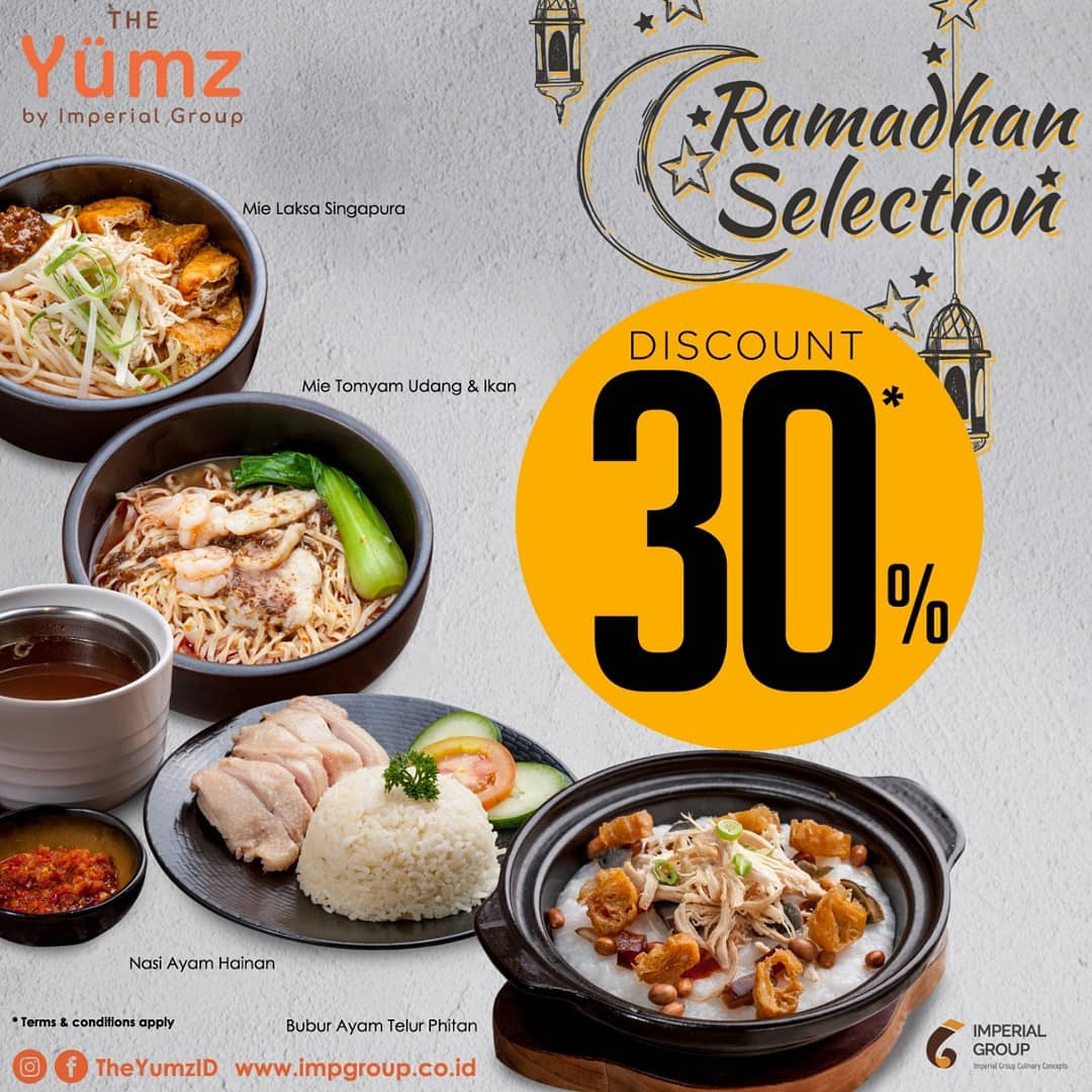 THE YUMZ Menu Paket RAMADHAN SELECTION DISCOUNT 30%