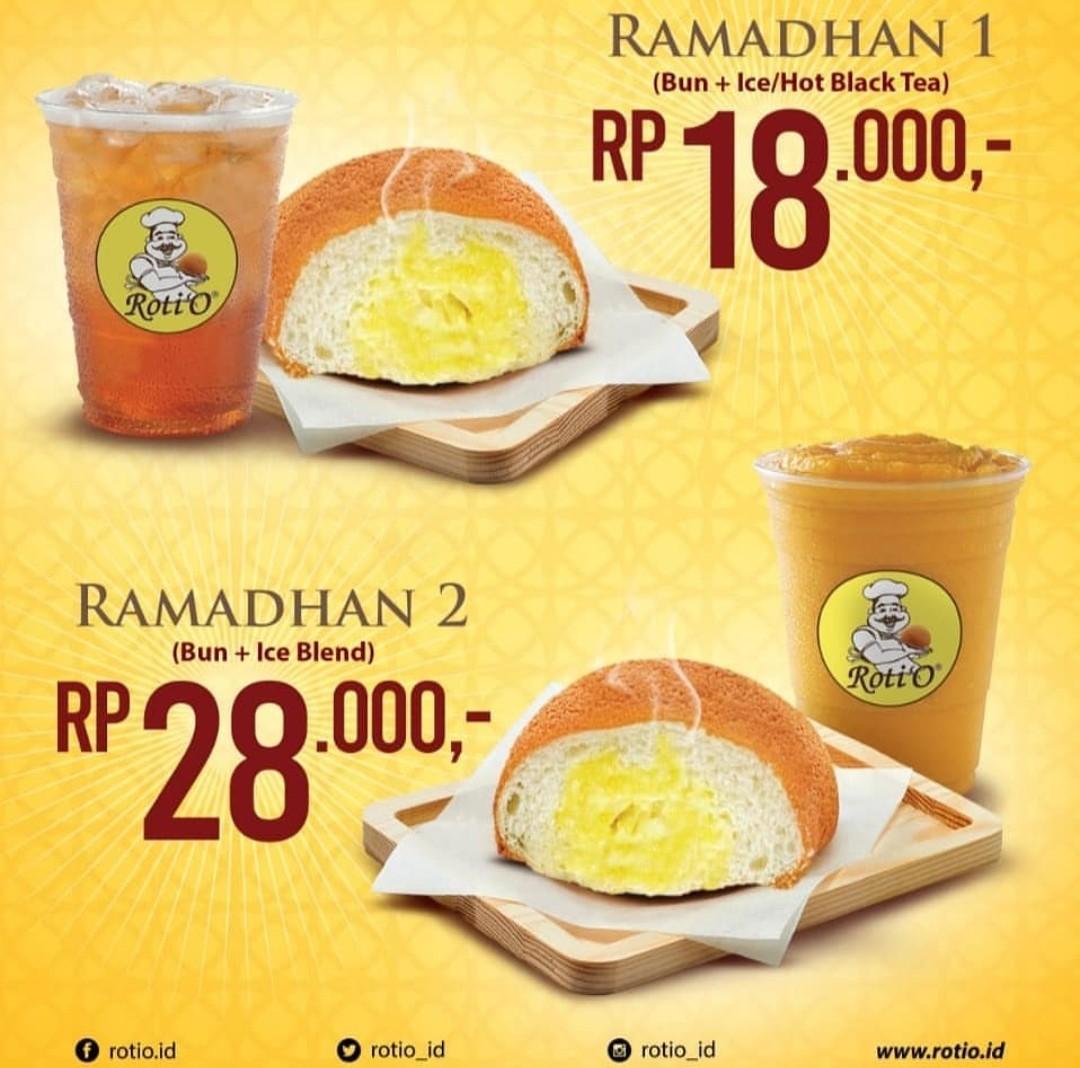 ROTI'O Promo Paket Ramadhan Harga Mulai Rp 18.000,-