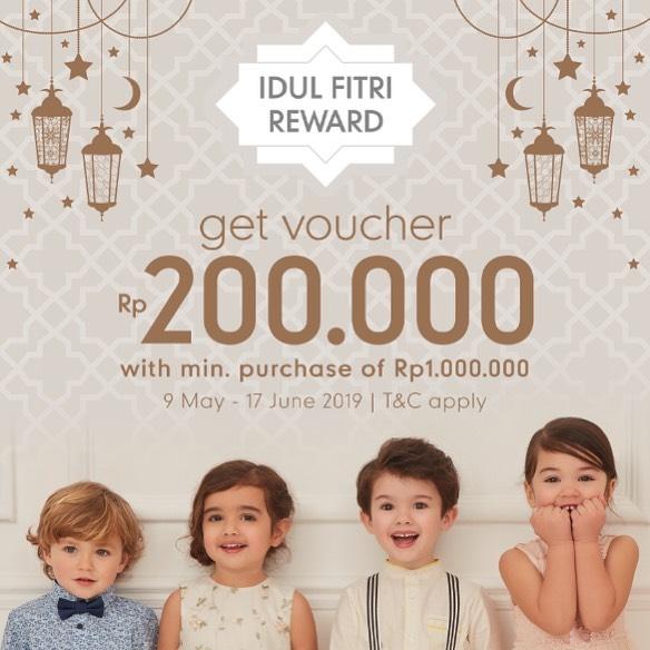 ELC INDONESIA Promo Idul Fitri Reward GRATIS voucher belanja Rp.200,000