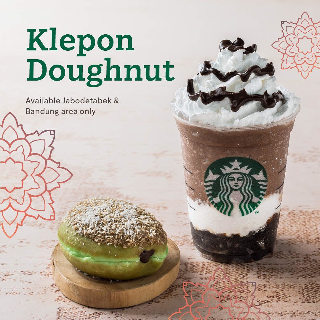 Diskon STARBUCKS NEW Klepon Doughnut