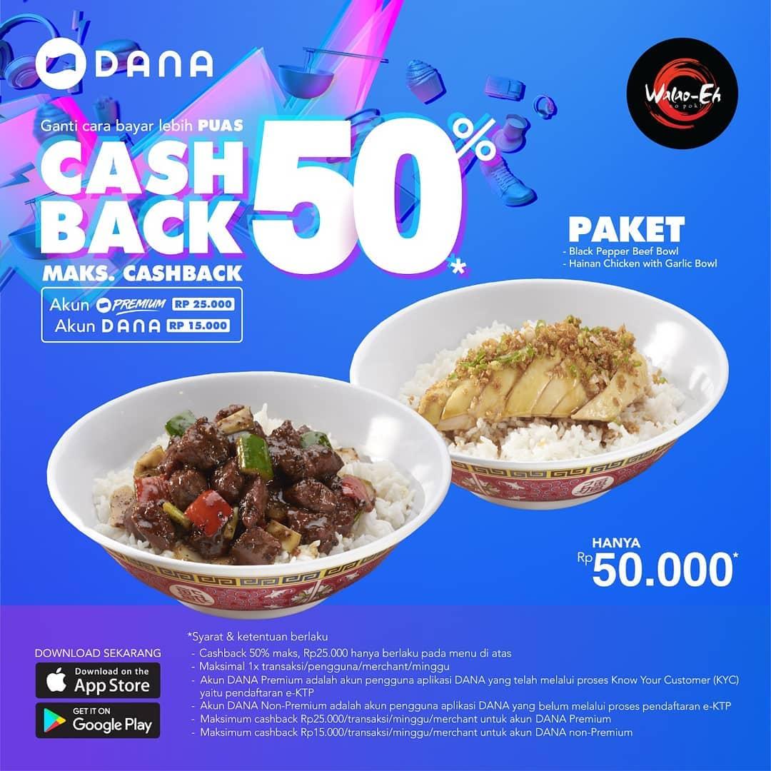 WALAO-EH Promo Harga Spesial hanya Rp. 50.000 dengan DANA
