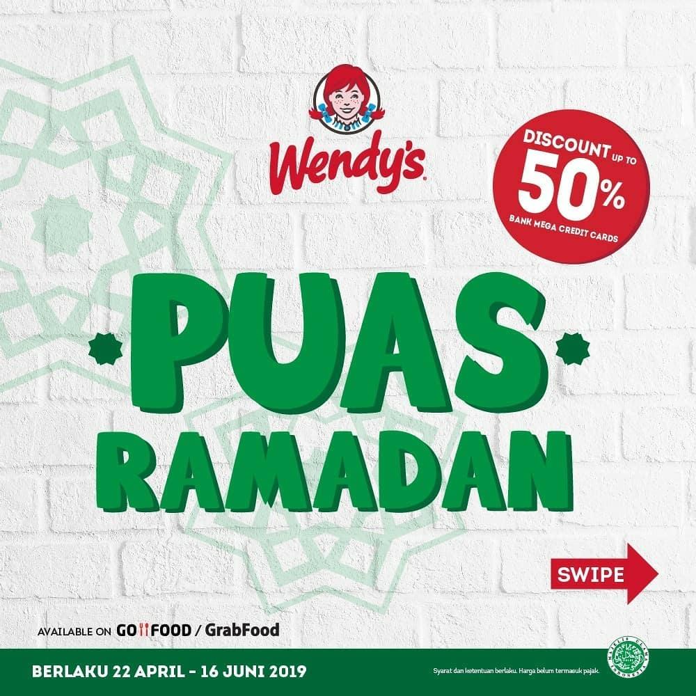 WENDY'S Promo Paket PUAS Ramadhan Harga mulai Rp. 20.000